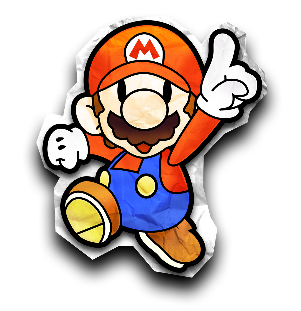 Paper mario 64 sprites related keywords suggestions for What color is mario