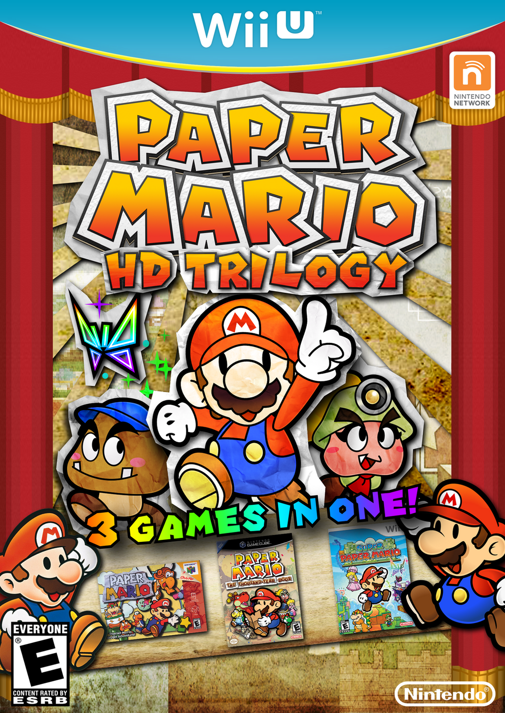 Paper Mario HD Trilogy (What do you think?) - Paper Mario