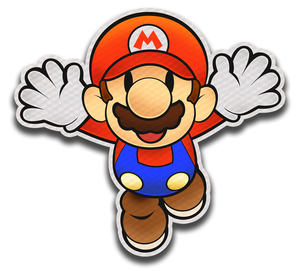 Paper mario color splash style by fawfulthegreat64 on for What color is mario