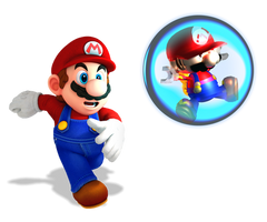 Mini Mario Rescue by Fawfulthegreat64