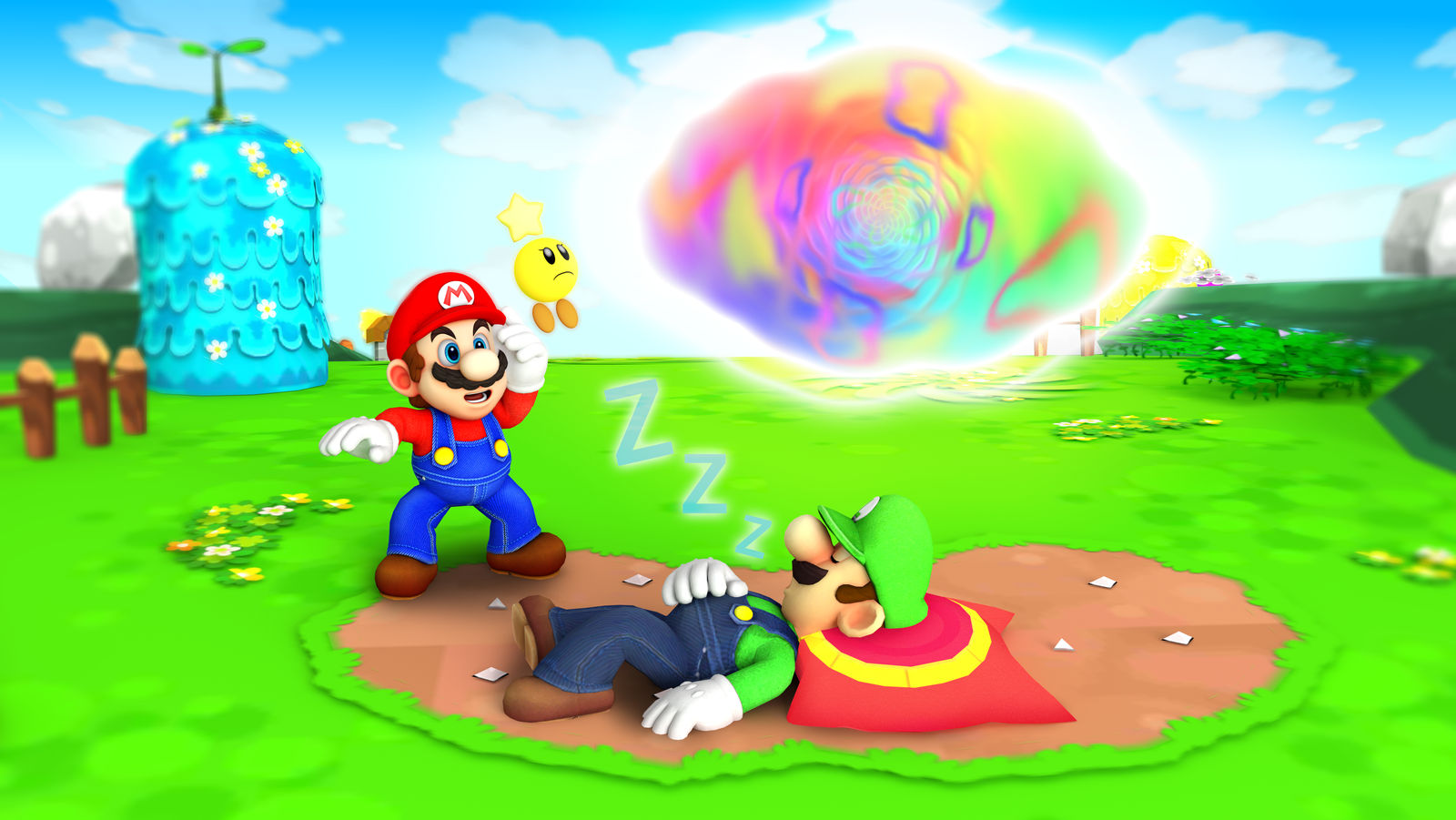 Mario And Luigi Dream Team Hd By Fawfulthegreat64 On Deviantart