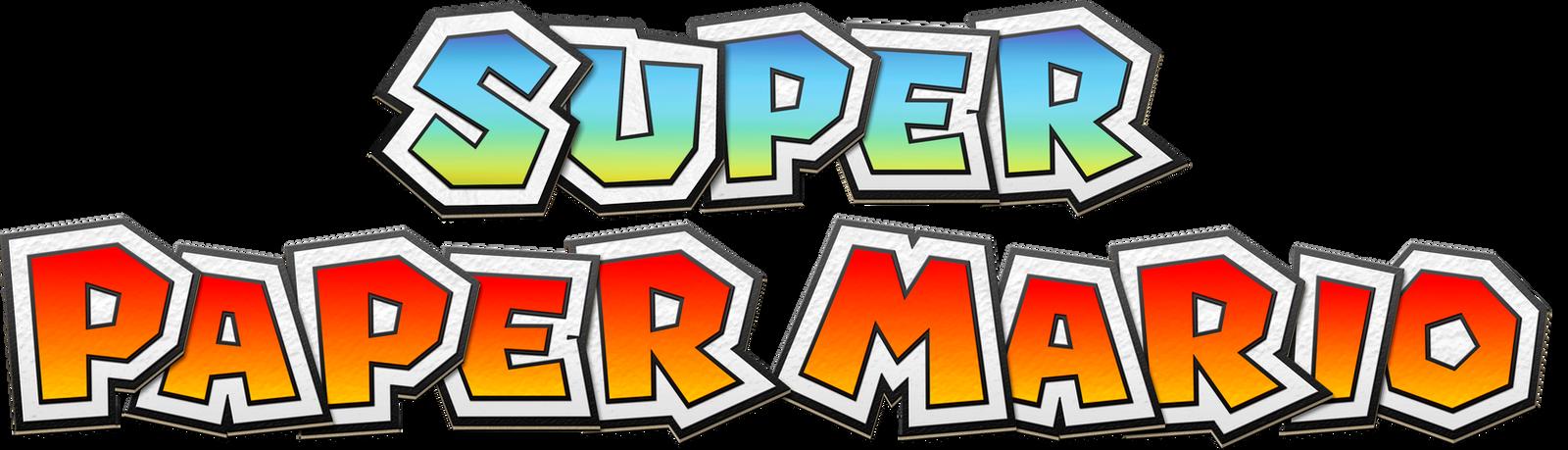 Super Paper Mario Modern Logo