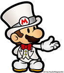 Paper Mario - Wedding Tux