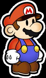 Mario (Early Design) - Paper Mario 2