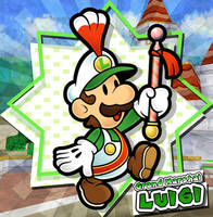 Paper Mario - Grand Marshal Luigi