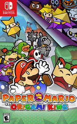 Paper Mario: The Origami King- Classic Style Cover