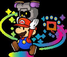 Super Paper Mario - Pixl Thoreau