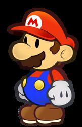 Paper Mario walk cycle
