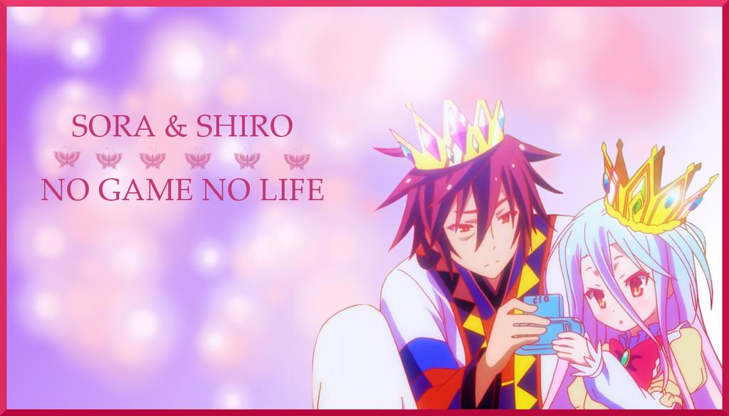 Sora and Shiro Wallpaper (No Game, No Life) by ChihaHime
