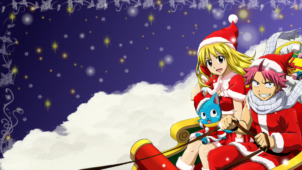 Fairy Tail Christmas Wallpaper by ChihaHime on DeviantArt