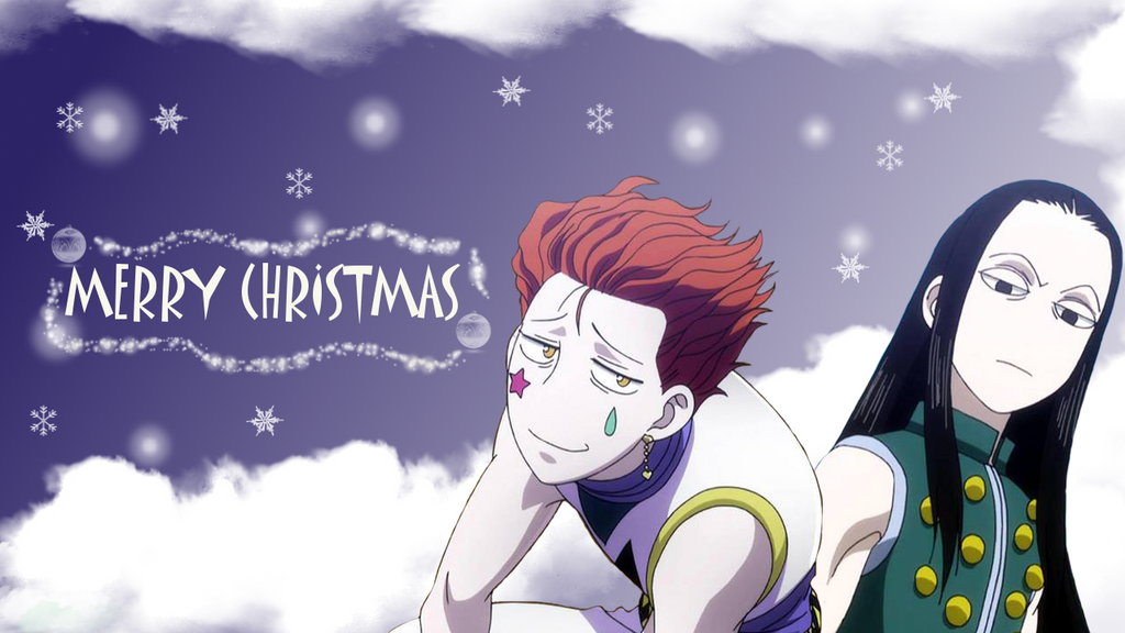 HxH Christmas anime wallpaper (Request) by ChihaHime