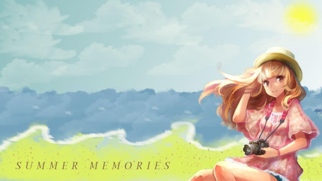 Summer Memories Anime Wallpaper By Chihahime On Deviantart