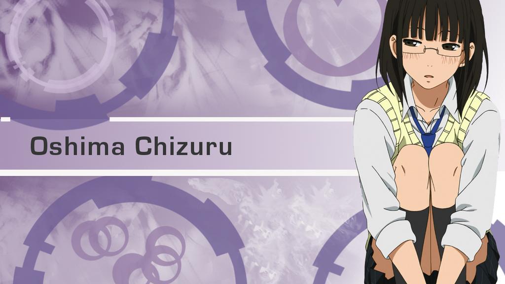 Oshima Chizuru Wallpaper (Tonari no kaibutsu kun) by ChihaHime