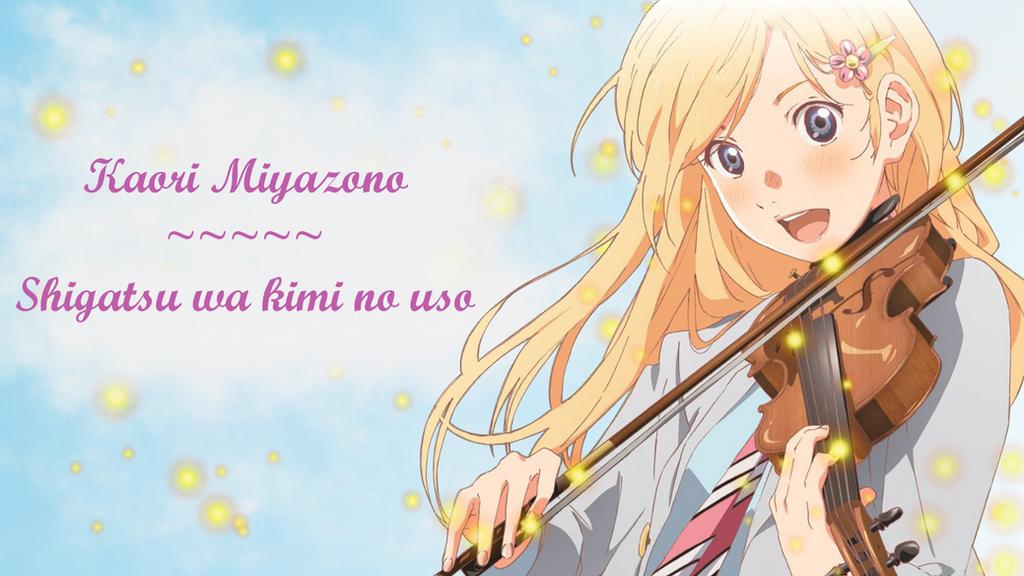 Kaori Miyazono Wallpaper (Shigatsu wa kimi no uso) by ChihaHime