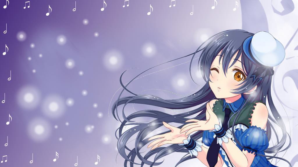 Umi Sonoda Wallpaper Birthday present for Misuzu by ChihaHime