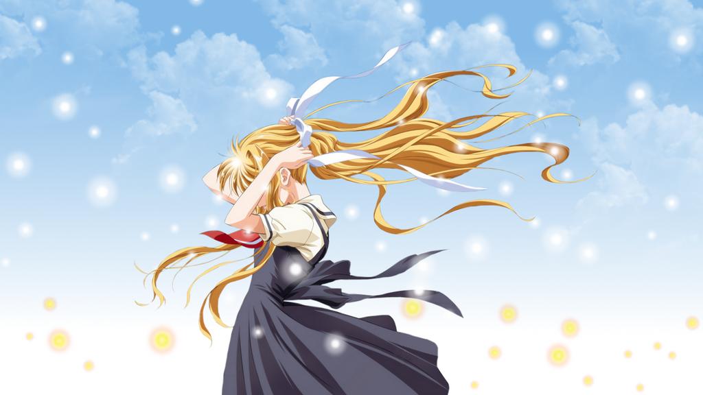 Misuzu Wallpaper Happy Bday, Moon! by ChihaHime