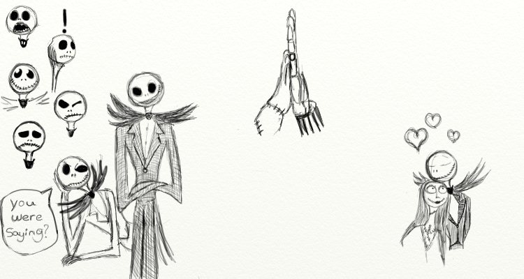 Nightmare Before Christmas Sketches by Reeves3 on DeviantArt
