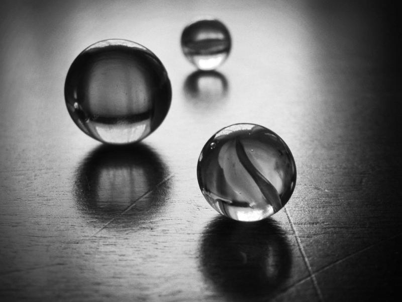 Marbles in black and white by Lutrina on DeviantArt