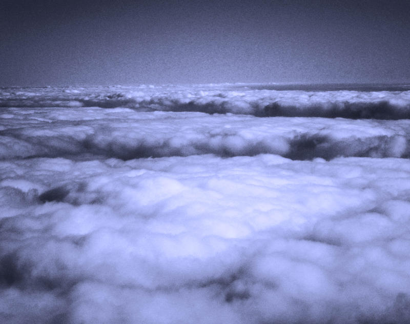 Clouds in blue by Lutrina