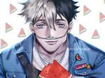 [OC] Haiko + melon