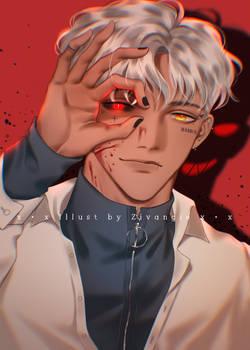 [OC - Hwaito] Devil's eyes