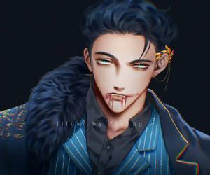 [Halloween] OC - Vampire Blackun
