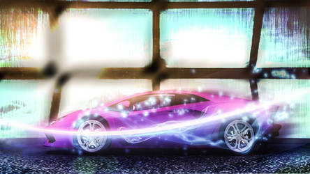 Pinky Lamborghini