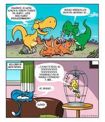 Dinos by Nagualiux