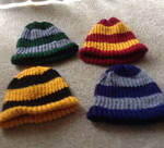 Harry Potter Inspired Knit Beanies