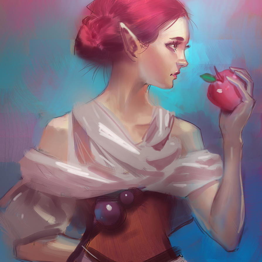 Apple by medders