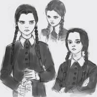 Wednesday Addams by medders
