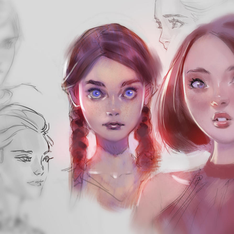 Purple tint tutorial by medders on deviantart baditri Image collections