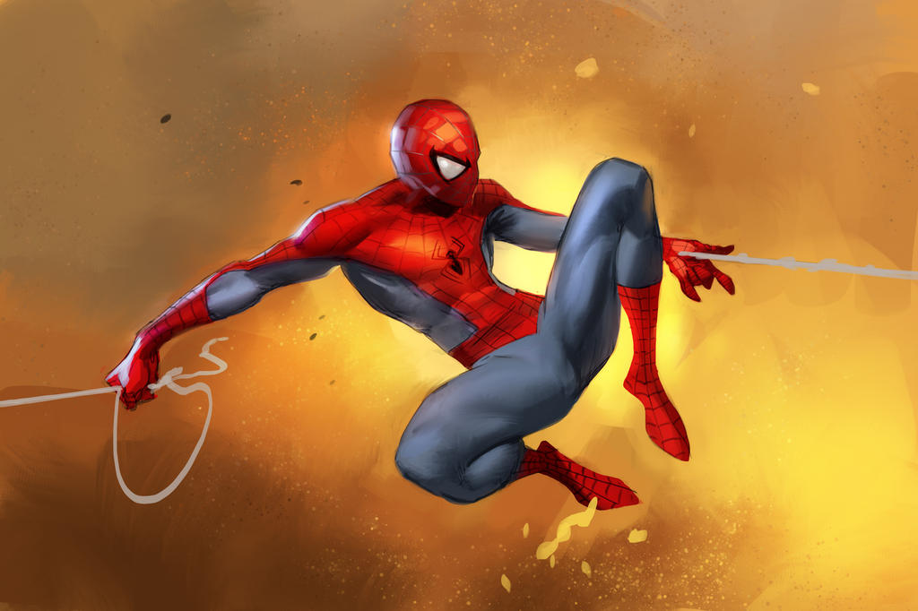 Spider-Man and Process Vid by medders