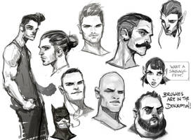 Drawing Dudes by medders
