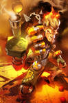 Junkrat primed and ready