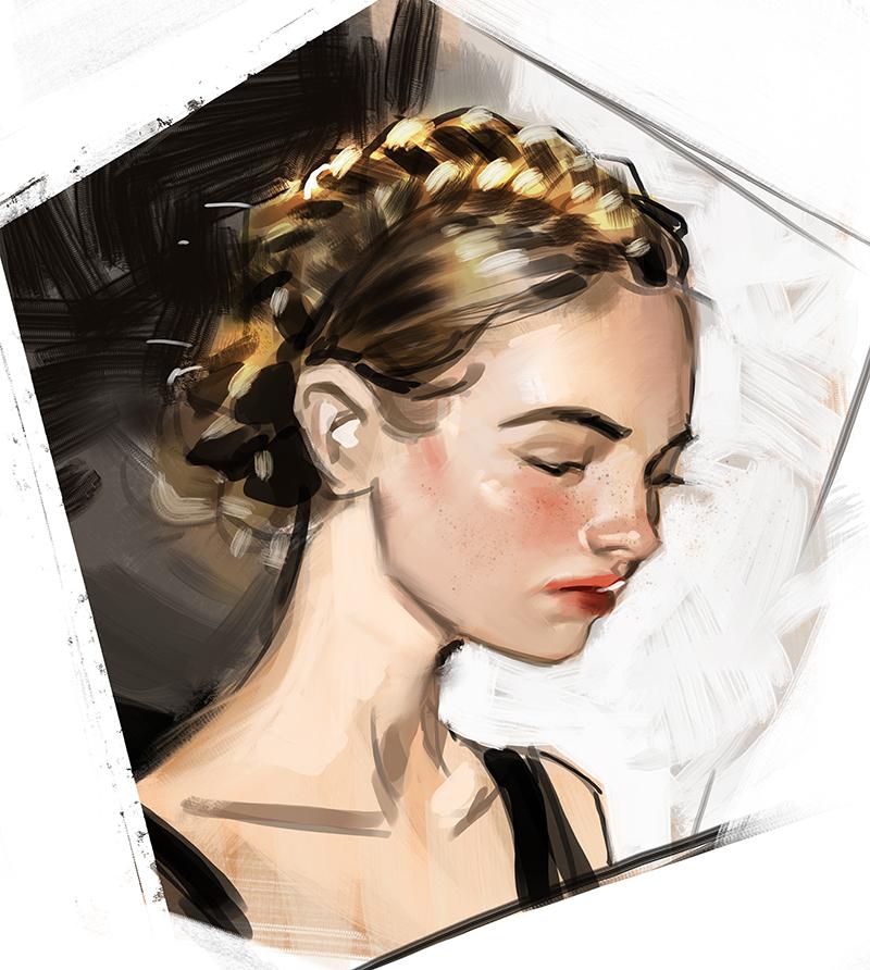 Stylized Portrait Mini-tutorial by medders