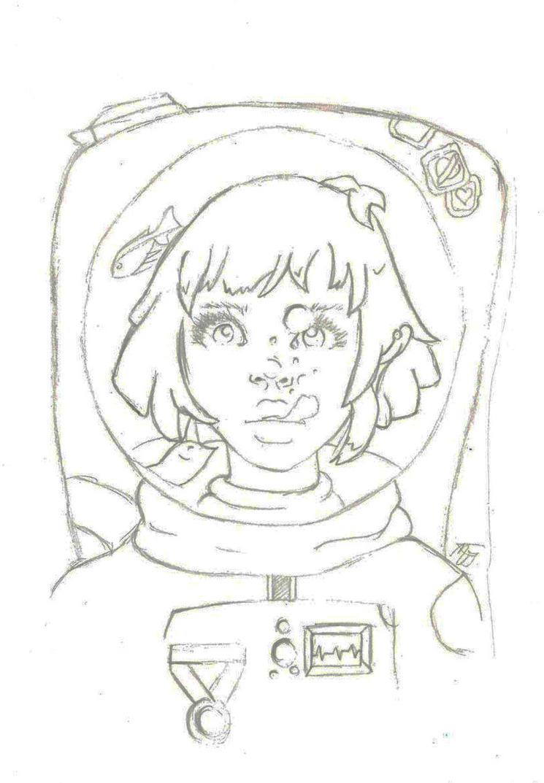 OC~ TASIA (SPACE CADET) by Acidd-flesh