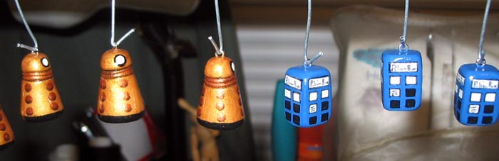 Teaser Doctor Who jewelry by Tofutastic