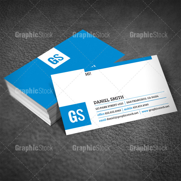 PSD Business Card Template by graphicstock on DeviantArt