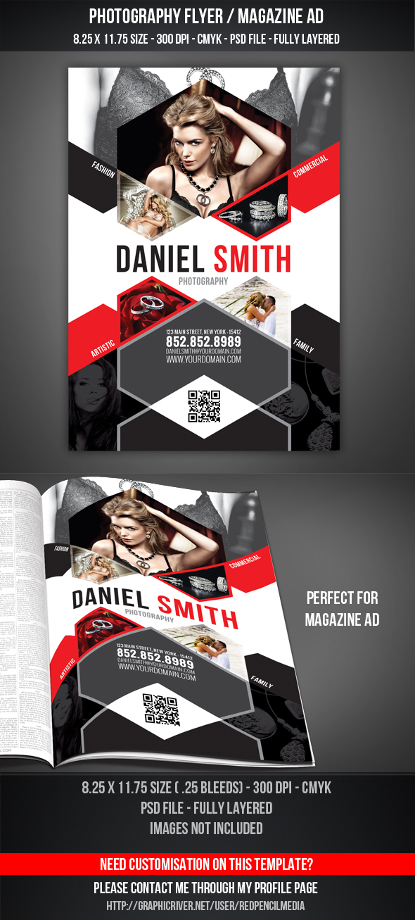 Photography Flyer / Magazine AD by graphicstock
