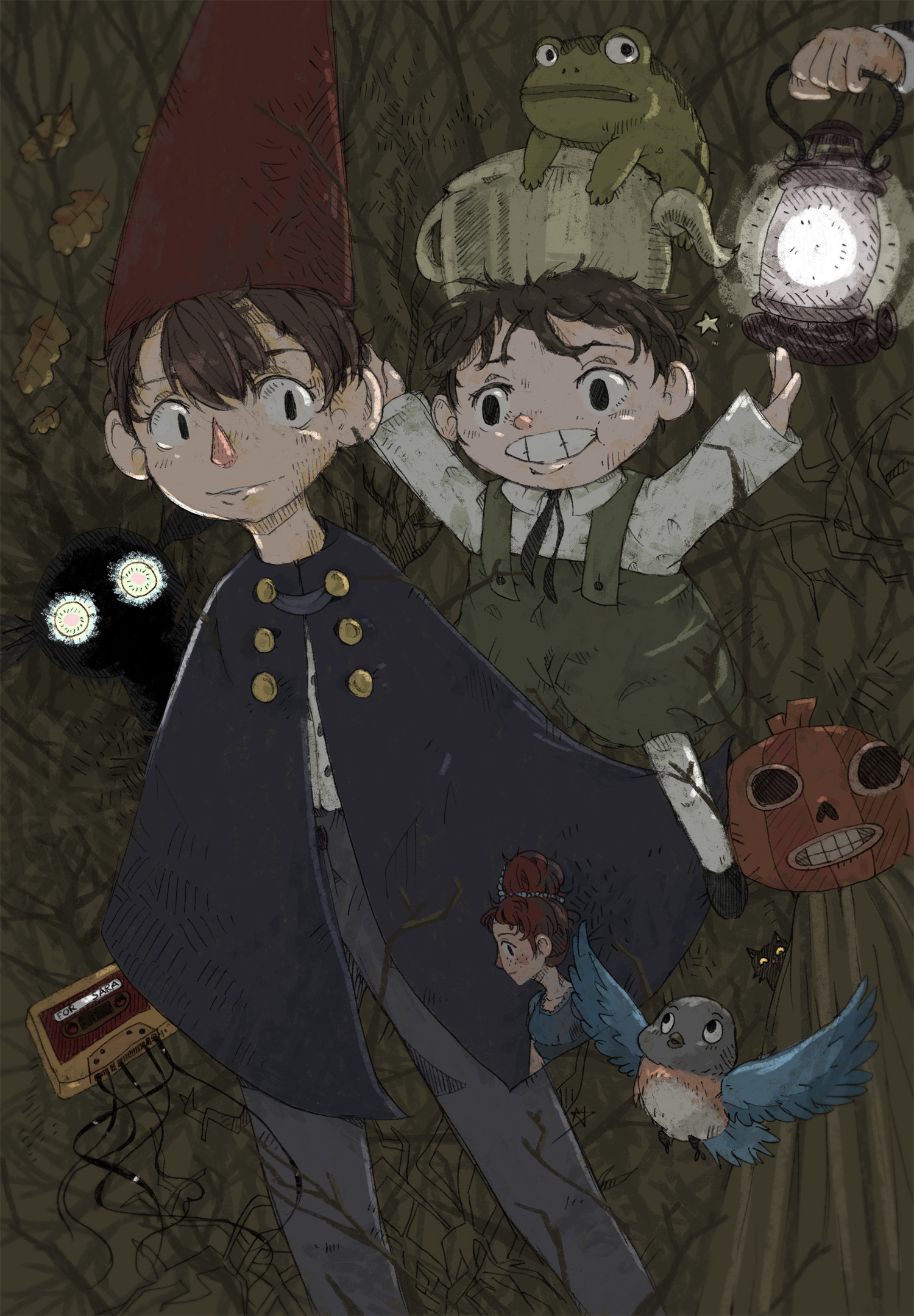 Over The Garden Wall By Yoshiny On Deviantart