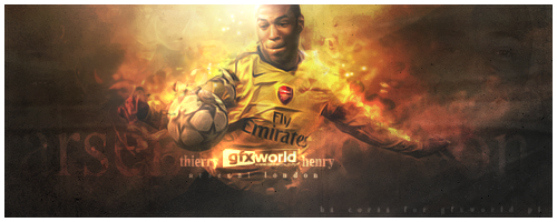Thierry Henry Arsenal by gfxworld1