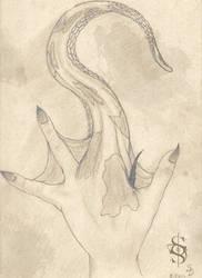 Within Grasp - OC hand study
