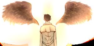 fallen angel by NeverlandCake