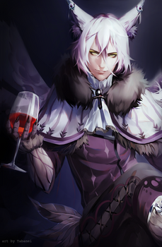 here have a wine