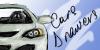 car drawing logo by vitezaucide