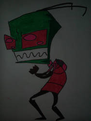 invader zim color by Maxlord15