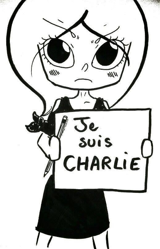 Je Suis Charlie by Na-tsu-na27