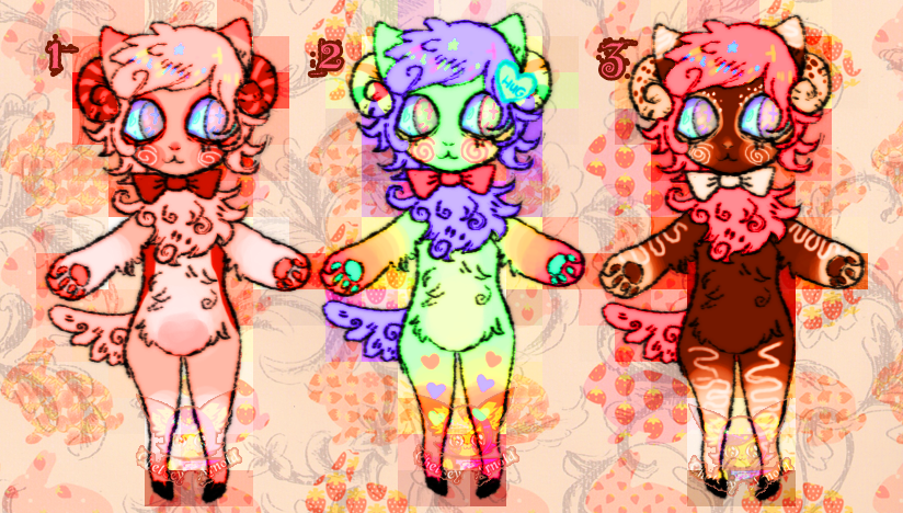 Valentine Meweep adopts by CHAlNSAW