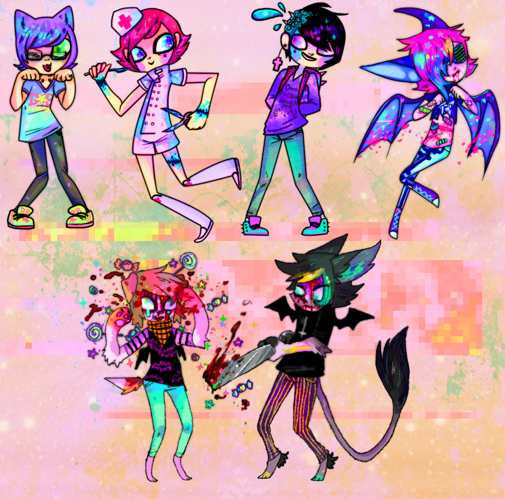 OH GOD LOOK AT THEM ALL 2 by MoggieDelight